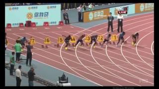 Бриллиантовая лига 2017 100 метров мужчины Шанхай
