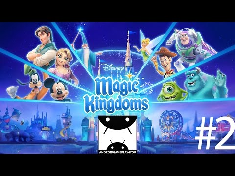 Disney Magic Kingdoms Android GamePlay #2 (1080p) (By Gameloft) [Game For Kids]