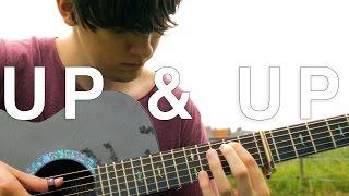 Up & Up - Coldplay [Fingerstyle Guitar Cover by Eddie van der Meer]