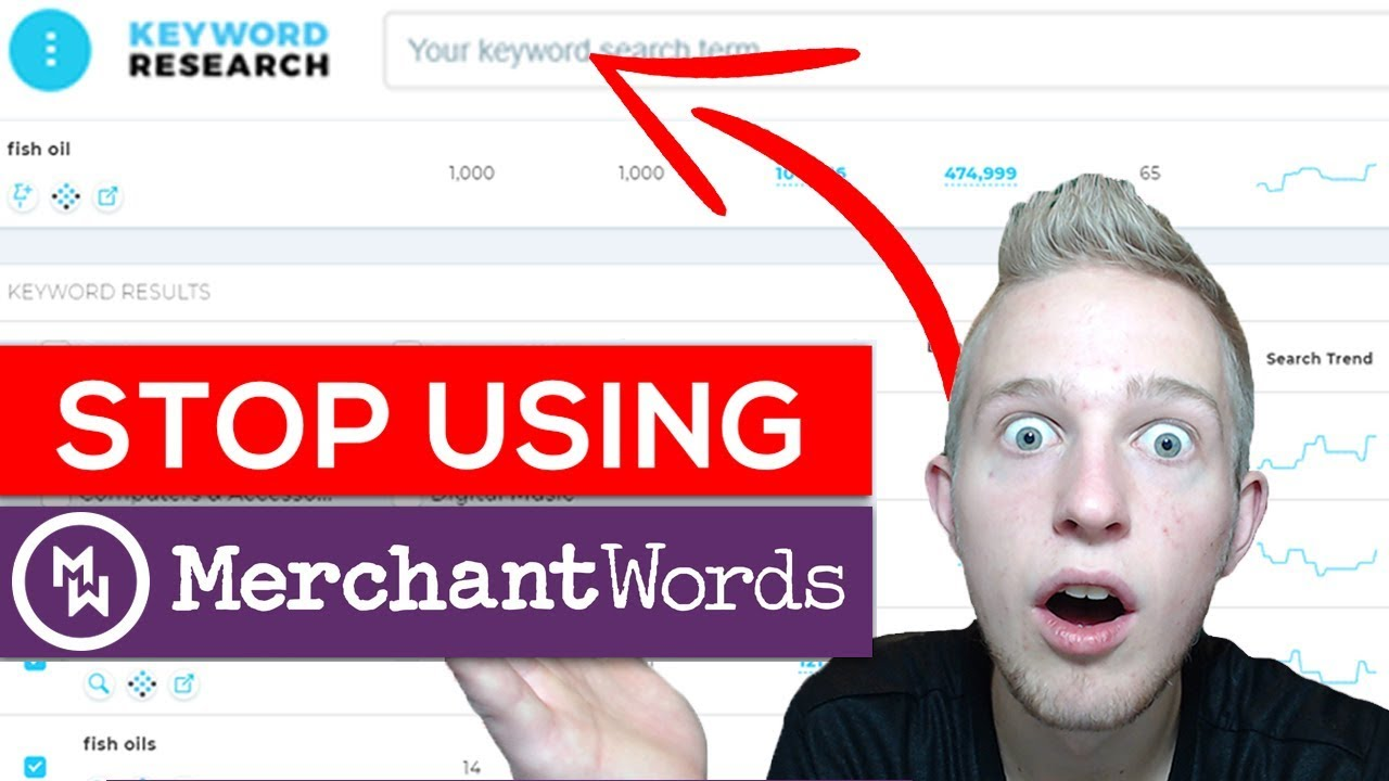 merchant words keyword tool