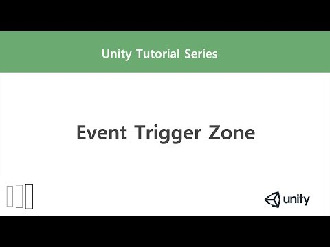 Unity] Event Trigger Zone - YouTube