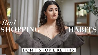 5 BAD shopping habits that you should QUIT TODAY | Gemary