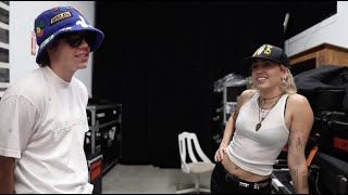 """Miley Cyrus – """"WITHOUT YOU"""" by The Kid LAROI and Miley Cyrus (SNL Rehearsal BTS)"""