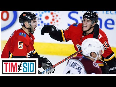 Flames Comeback Made For One Of The Most Entertaining Games This Season | Tim and Sid
