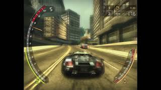 NFS MW Porsche carrera GT vs Razor BMW M3 drag #2
