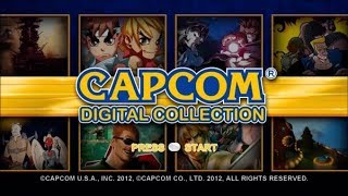 Capcom Digital Collection Xbox 360 Gameplay