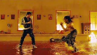 """قتال # توني جا # ضد """" مقاتل كابويرا """" في فيلم ( protector 1 )"""