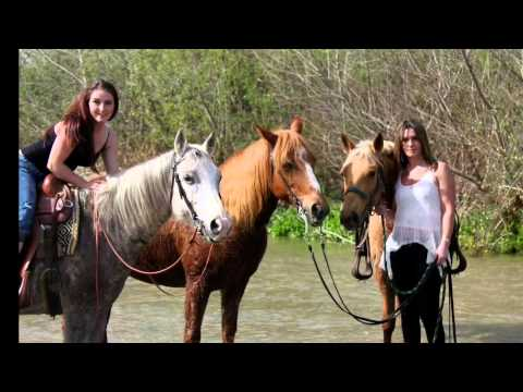 Girls and horses me and Morgan Johnston song by Tempilton Thompson