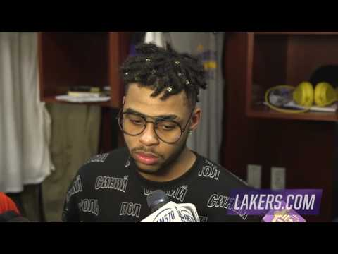 D'Angelo Russell: 'I knew that's what my grandmother would've wanted'