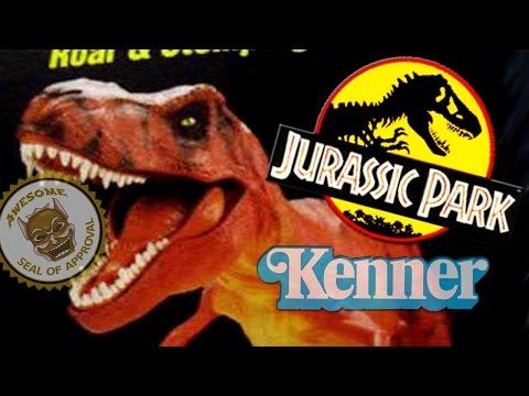 Jurassic Park Toys (JP Series 1) - Tyrannosaurus Rex Review