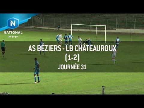 J31 : AS Béziers – LB Châteauroux (1-2), le résumé