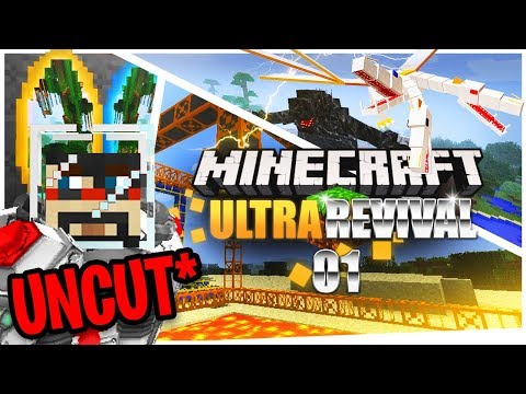Minecraft: Ultra Modded Revival Uncut Ep. 1 thumbnail