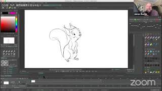 James Baxter Animation Demo and Speaker Event