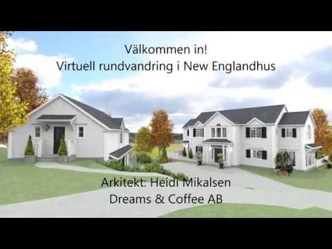 New England hus i Norge