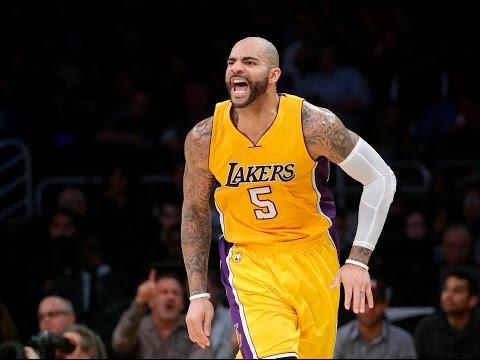 Carlos Boozer Los Angeles Lakers Season Highlights 2014-2015 HD!!!