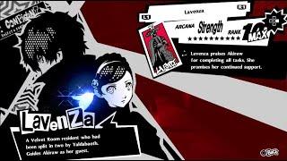 Secrets in the Confidants menu - Persona 5/Royal
