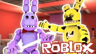 Roblox Adventures / Freddy Fazbear Roleplay / BONNIE MAKES A FRIEND ?!