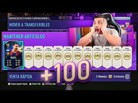 +100 PLAYER PICK PARA MESSI TOTS!!!!