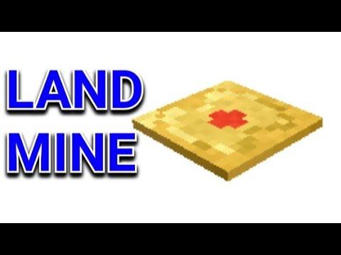 how to build a landmine