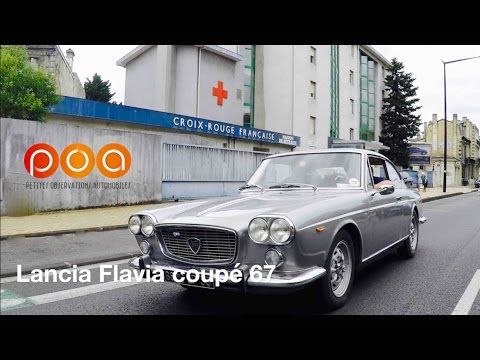 Lancia Flavia et Flaminia Coupé : la dolce vita pour POA