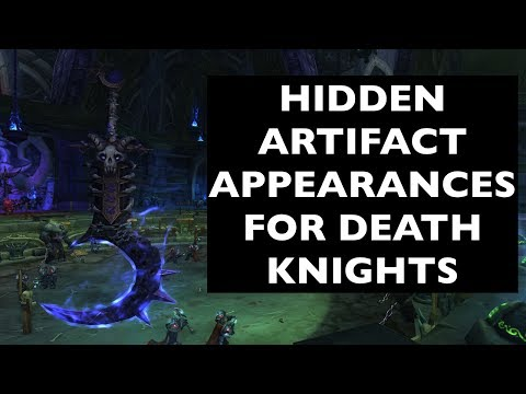 Hidden Artifact Appearances for Death Knights (Hidden Potential) | WoW Guide