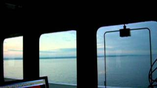 Having the  bridge to myself in morning before reaching Ballard dock.MOV