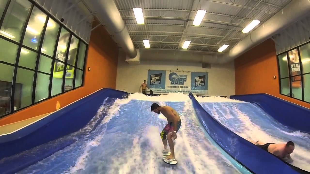 What is a flowrider skateboarding