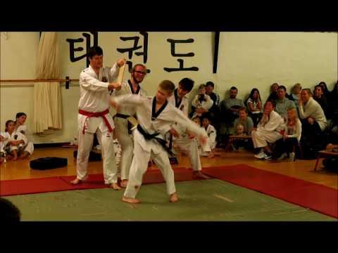 Risskov Taekwondo klub Juleafslutning 2016