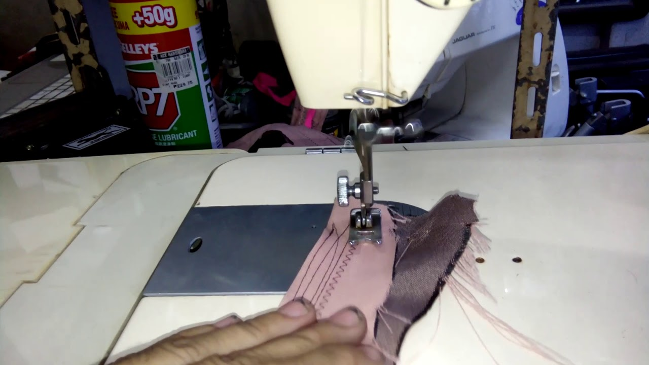 singer zigzag and straight sewing - YouTube