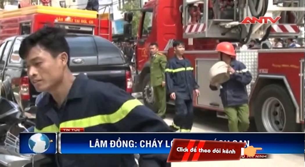 Clip: Cháy khách sạn 5 sao lớn nhất Đà Lạt