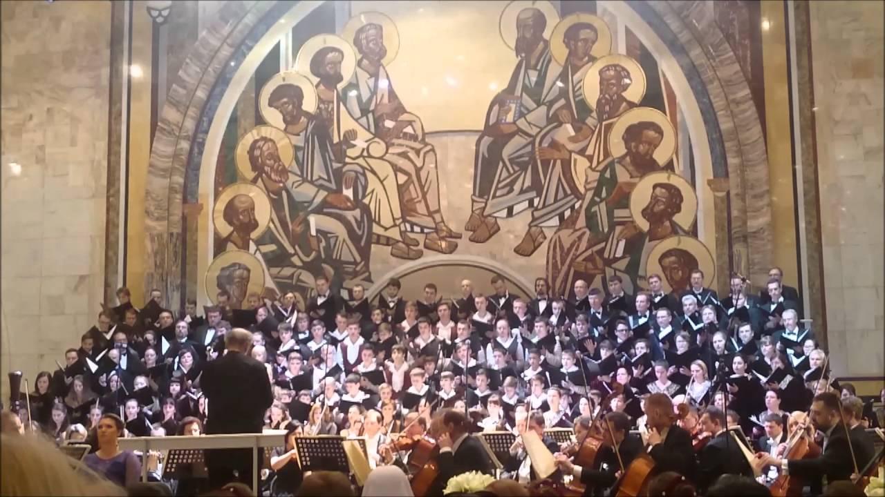 Открытие XV Московского Пасхального фестиваля
