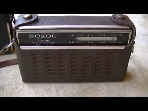 SOKOL 403 AM Radio Analysis And Repair Сокол 403