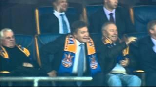 Реакция Януковича на промах Коноплянки или Что сказал президент?