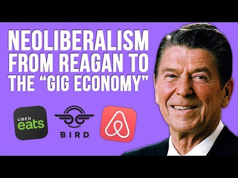Neoliberalism: WTF? Neoliberal Capitalism from Ronald Reagan to the Gig Economy | Tom Nicholas