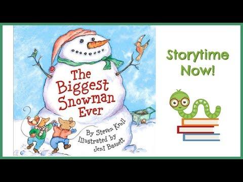 The Biggest Snowman Ever - By Steven Kroll | Kids Books Read Aloud