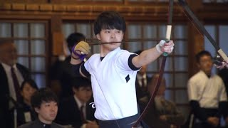 2018 The 64th East-West Japan College Students Championship  2018年 第64回東西学生弓道選抜対抗試合(男子)