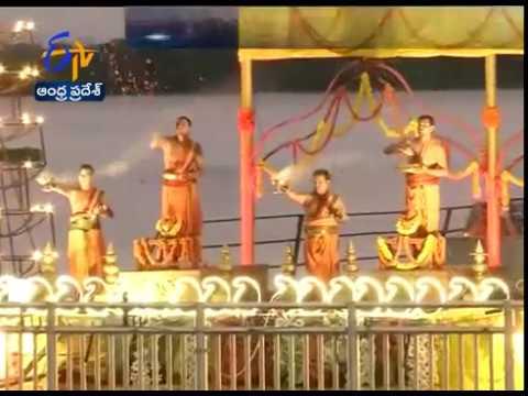 Chandrababu Performs Puja At  Pavitra Sangamam | Confluence Of  Krishna & Godavari Rivers | At Ferry