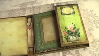 Scrapbook  Curio Mini a la Donna #2