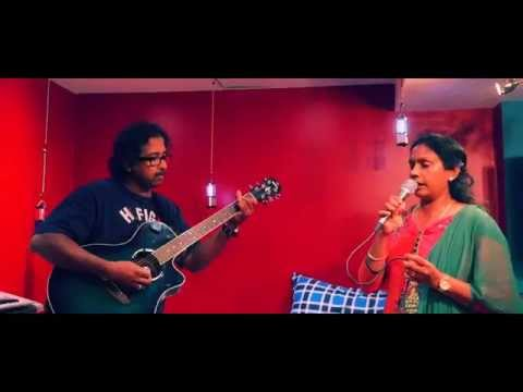 Unnai naan santhithen - Live Vocal Cover by Subathra ft. Kumaran