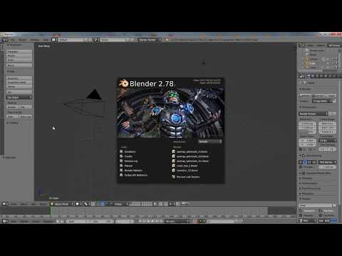 Learning Blender 3D basic mouse navigation and moving around