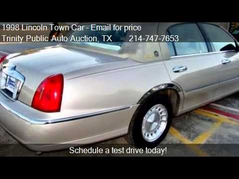 1998 Lincoln Town Car For Sale In Dallas Tx 75208 Youtube