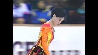 八木沼純子 Junko Yaginuma 1990 NHK Trophy (Asahikawa) - Short Program 八木沼純子 検索動画 7