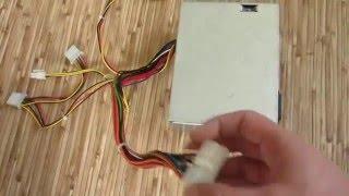 Как заменить установить блок питания на компьютере