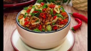 Как приготовить вкусно гречку с овощами/Правильное и здоровое питание