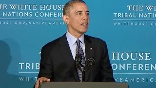 President Obama Speaks at the 2013 Tribal Nations Conference