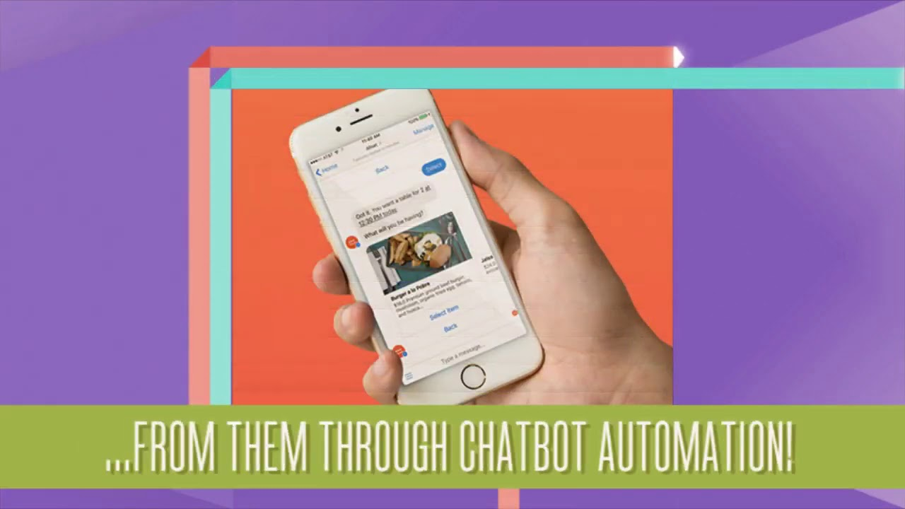 Restaurant Ordering and Marketing Chatbot