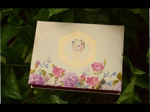 Signature Floral Boxed Invitation || DP0072 || Cardswalay.com
