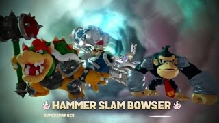 Skylanders Superchargers (Wii U) Walkthrough Part 1 - Bowser & Donkey Kong (2 Player)