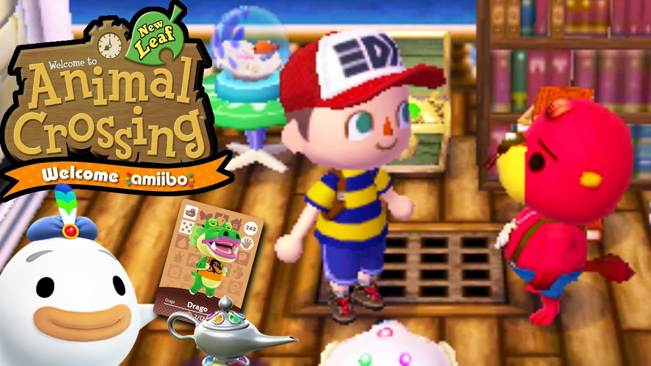 Animal Crossing New Leaf - Welcome amiibo Update - Drago ...