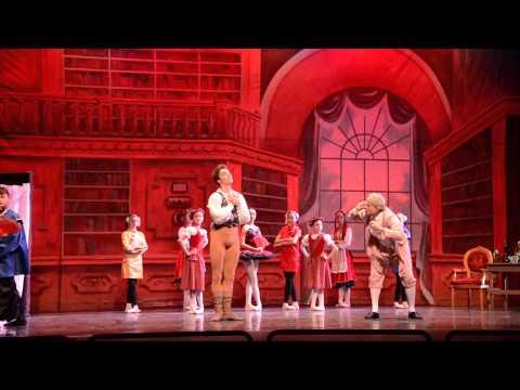 Coppelia Rehearsal San Diego School of Ballet June 2014